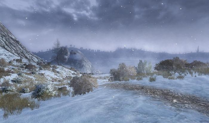 Snowfall in Wildermore
