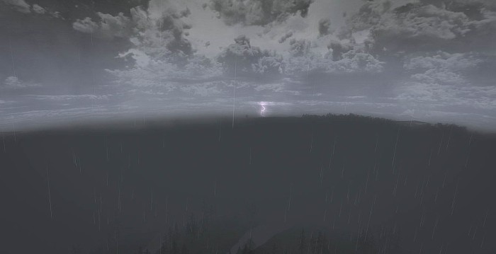 Lighting over Rohan