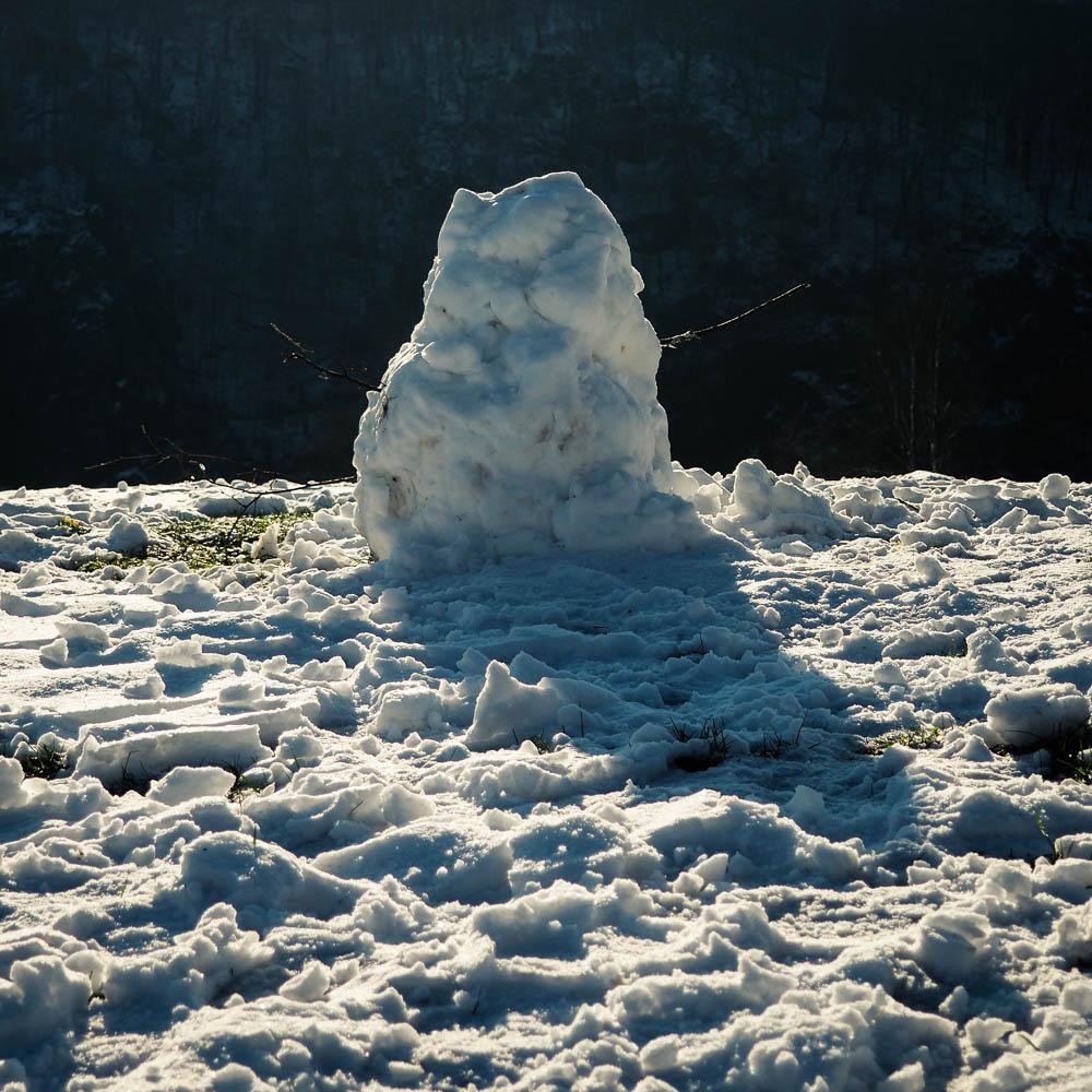 A Crude Snowman