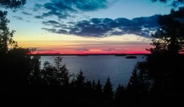 Sundown in Kemiö island