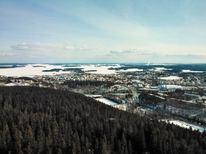 Wintry Kuopio