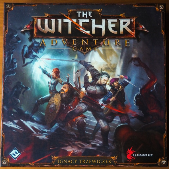 The Withcer Adventure Game Box