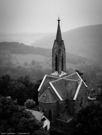 Protestant church in Dilsberg