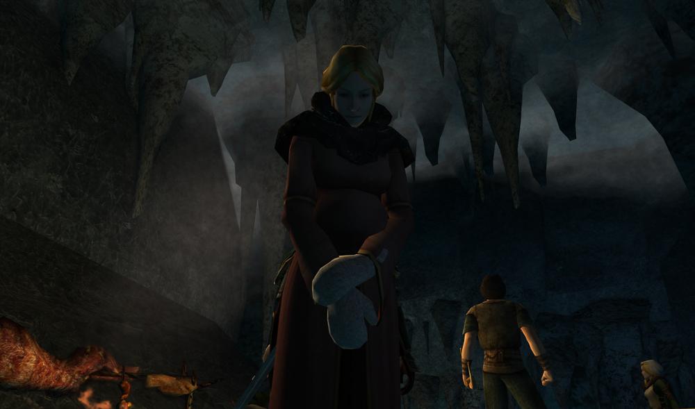 Pregnant Rohirrim woman