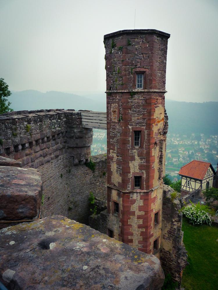 Dilsberg castle tower