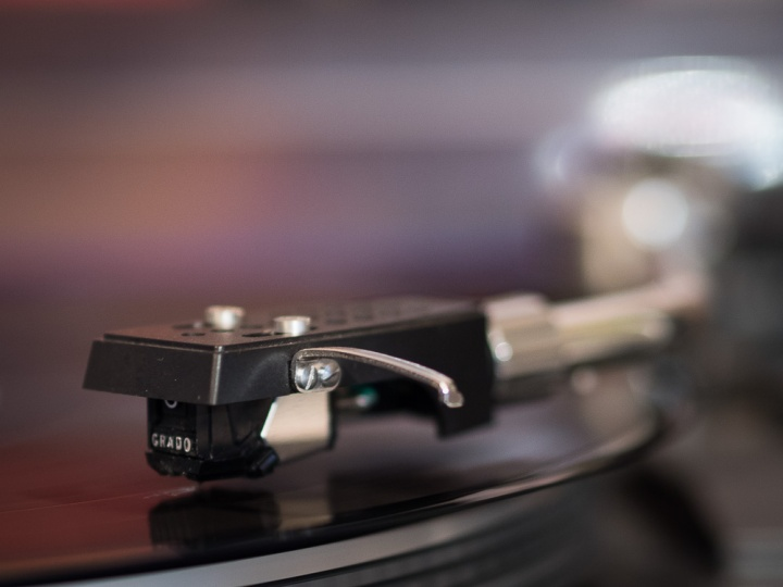 Grado cartridge on Salora LS 6200 record player