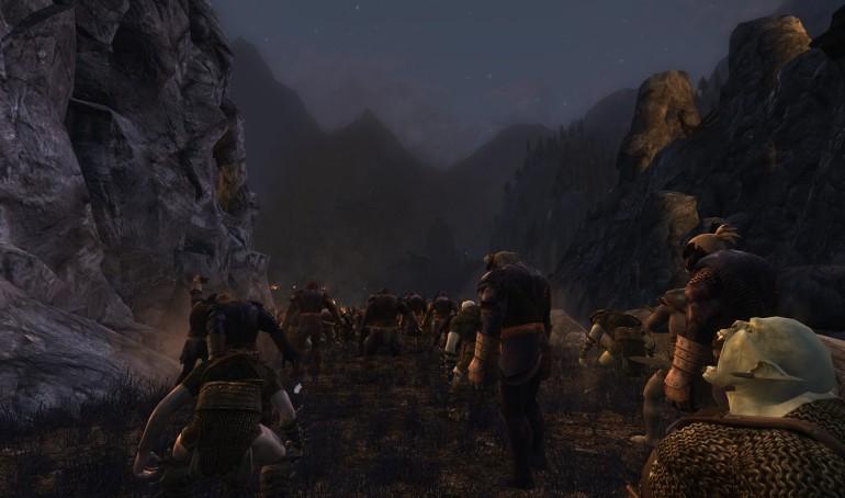 Orc horde at Helm's Dike