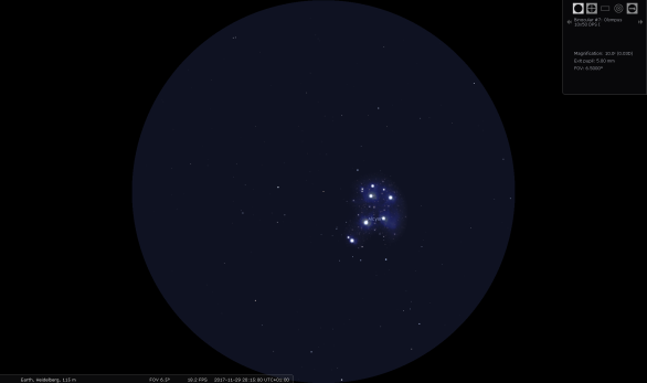 A reference view saved from Stellarium
